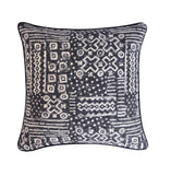 Mudcloth Pillow Cover -Robert Allen Fabric -Jacquard Pillow Cover -Tribal Print Pillow -Black and White Pillow Cover- Mud Cloth Pattern