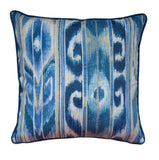 Outdoor Indigo Blue Pillow Cover