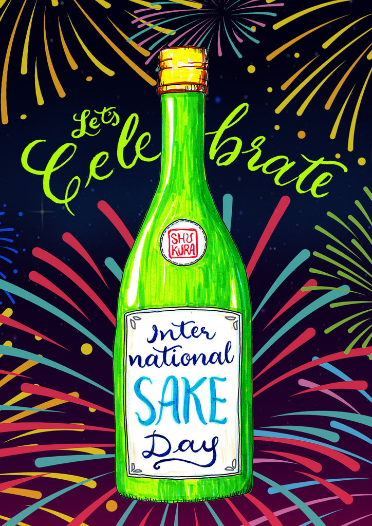Celebrate International Sake Day (Nihonshu No Hi) all week long from Oct 1st - 6th