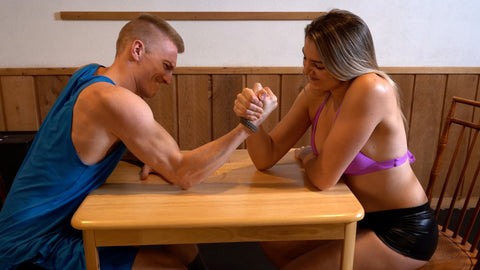 BATTLE OF THE SEXES - EMMY VS ADAM