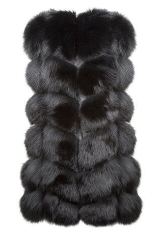 Luxury Fox Fur Gilet