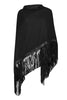 Black Tassle Wrap