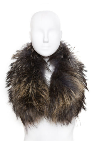 Green Fur Collar