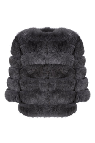 Smoke Fur Coat