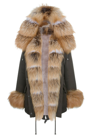 Golden Fox Parka
