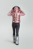 Pink Metallic Ski Jacket