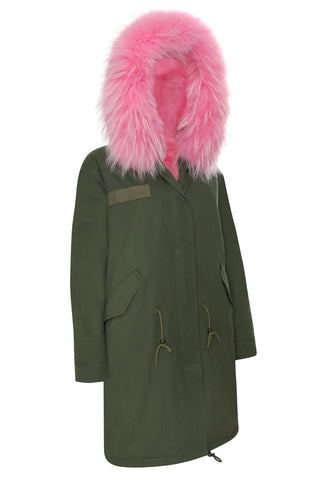 Camo Parka with Hood (Long)