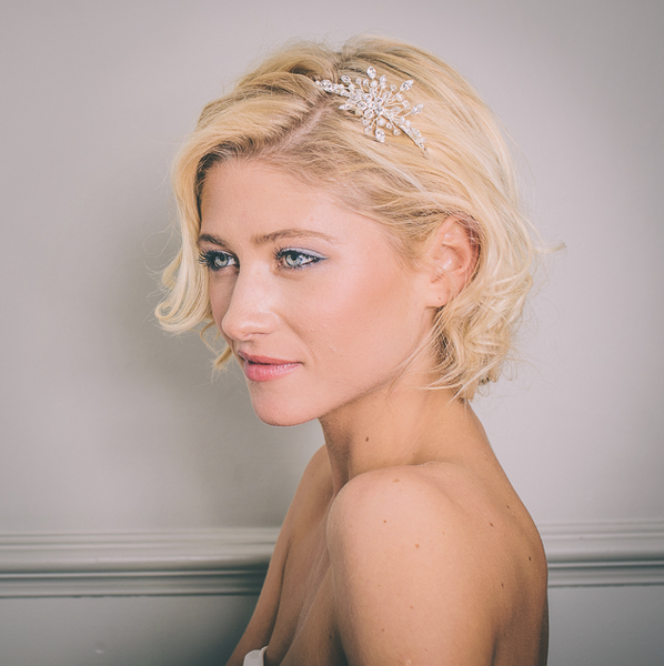 Briony Delicate Side Tiara