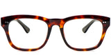 Black Main ZILOE Edge Designer Oversized Tortoise Acetate Prescription Glasses