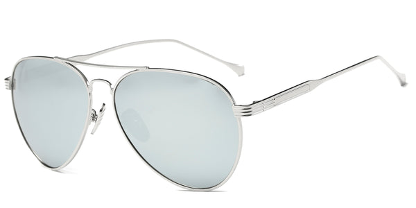 ChromeMirror Main ZILOE Aviator Mirror Metal Polarised Sunglasses