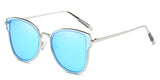 ArcticMirror Main ZILOE Butterfly Polarised Designer Oversized Mirror Metal Sunglasses