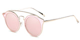 RoseMirror Main ZILOE Spring Cool Round Mirror Polarised Sunglasses