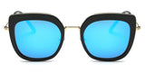 BlueMirror Main ZILOE Retro C Polarised Designer Oversized Sunglasses