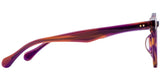 Purple Main ZILOE Boldly Vintage Round Acetate Glasses