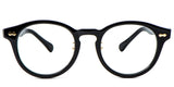 Black Main ZILOE Vive Vintage Round Glasses
