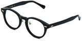 Black Main ZILOE Vive Acetate Vintage Round Eye Glasses
