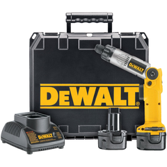 DEWALT DW920K-2 1 4-Inch 7.2-Volt Cordless Two-Position Screwdriver Kit