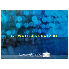 LGI Premium Watch Repair Kit with Reusable Aluminum Box