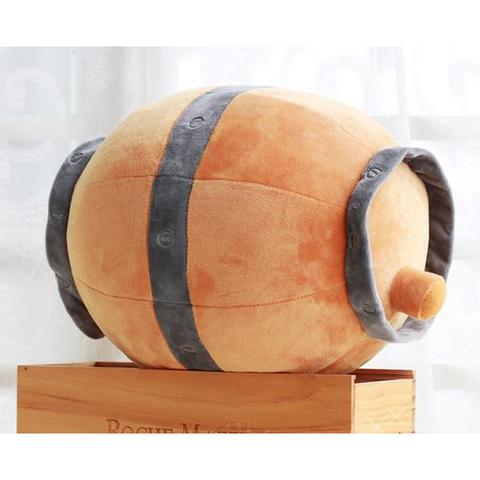 High quality  lol Gragas Pillow Big size 30*25 cm