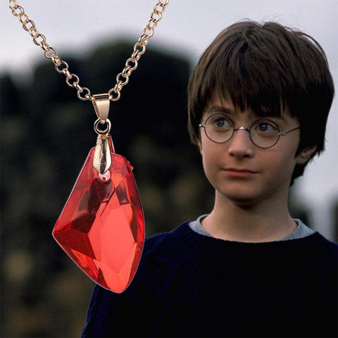 Harry Potter necklace  Philosopher  Stone Sorcerer  Stone Resurrection Stone necklace
