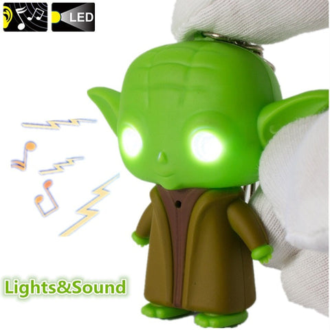 Star War Jedi Master Yoda with Sound and Led Flashlight Action Figure