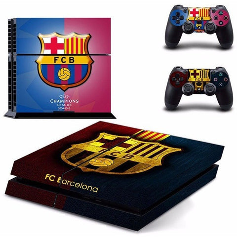 (HOT!) Barcelona Skin Sticker For Sony Playstation 4