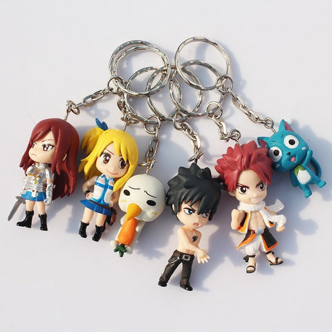 Fairy Tail Action Figure Toy Model Dolls - GamerGift