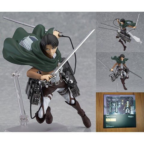 Attack on Titan Shingeki Kyojin Rivaille Figma Figures Model Collection Toy - GamerGift