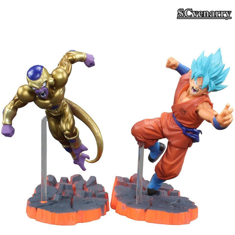 Dragon Ball Z Resurrection F Super Saiyan God goku Gold Frieza Battle - GamerGift