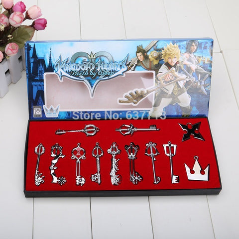 Kingdom Hearts Cosplay Necklace Sora Keyblade