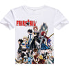 printed Fairy Tail t shirt