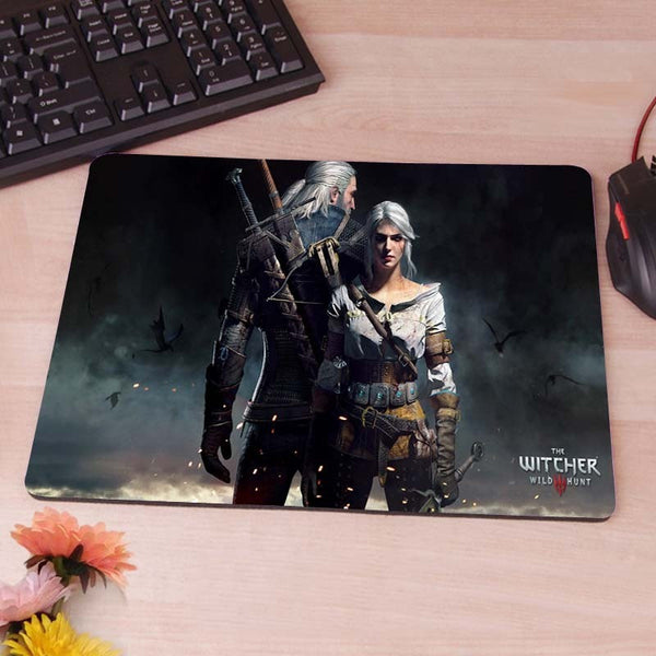 Witcher 3 Wild Hunt Game Gaming Mouse Pad