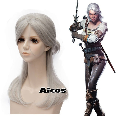 Witcher 3 Wig - Gamergift