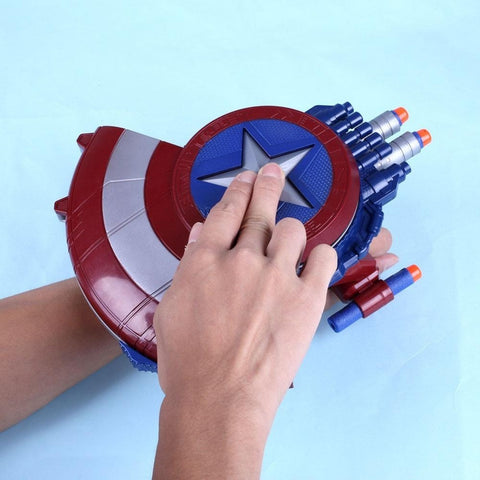 Avenger Captain America Shield Soft Bullet