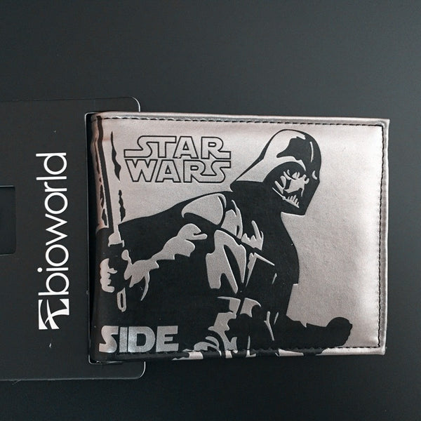 Star Wars Storm Troops Bo Buffett Bi-Fold Short Wallets With Card Holder