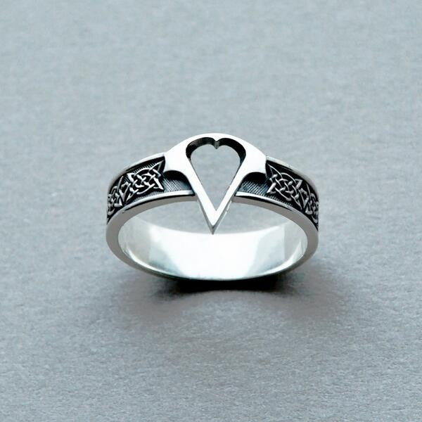 Assassins Creed Logo Titanium Steel Ring