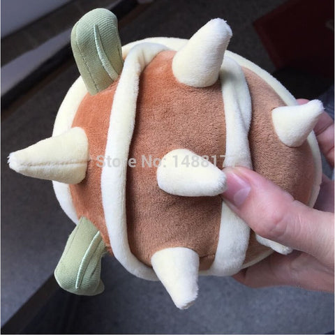 High quality  lol Armored  Poro 15cm Cotton doll