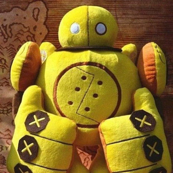 "Blitzcrank Plush Dolls lol 13.5"" Robot Cotton Toy"