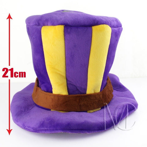 Caitlyn Purple Cotton Hat for Cosplay - GamerGift