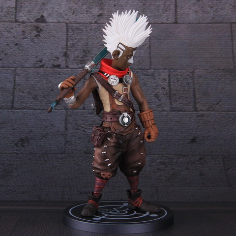 "Ekko PVC Action figure lol 8"" the Boy Who Shattered Time Great quality - GamerGift"