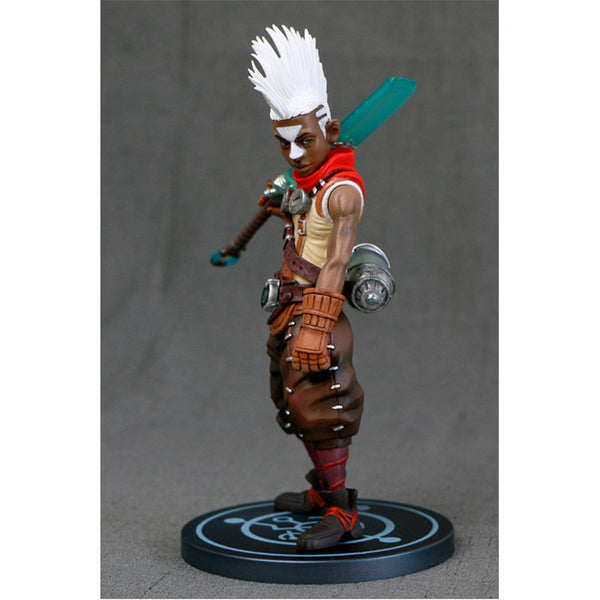 "Ekko PVC Action figure lol 8"" the Boy Who Shattered Time Great quality"