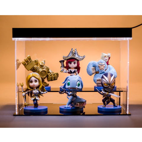 Action figures lol 6 styles Blitzcrank Nunu Fizz Miss Fortune Lux Shen - GamerGift