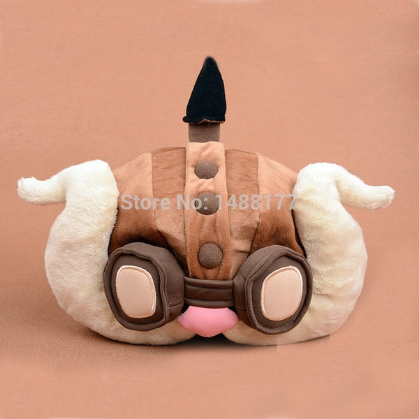 Corki Plush Hat lol High quality