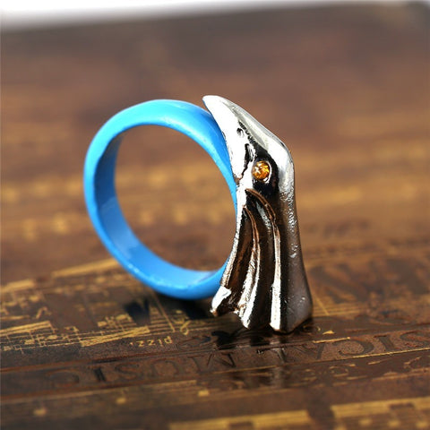 Retro Treatment Eagle Model Ring High Quality