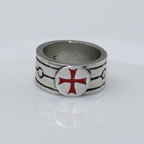 Assassins Creed Templar Antique Silver Ring