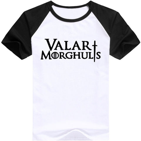 Game of Thrones men's t-shirt Valar Morghulis
