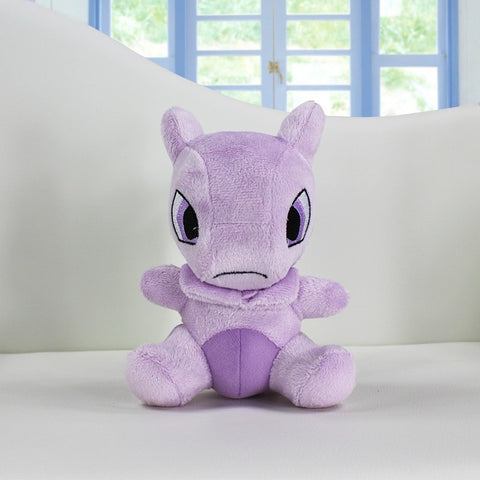 Pokemon Mewtwo Plush Doll Toy Stuffed Dolls 14cm Figure doll