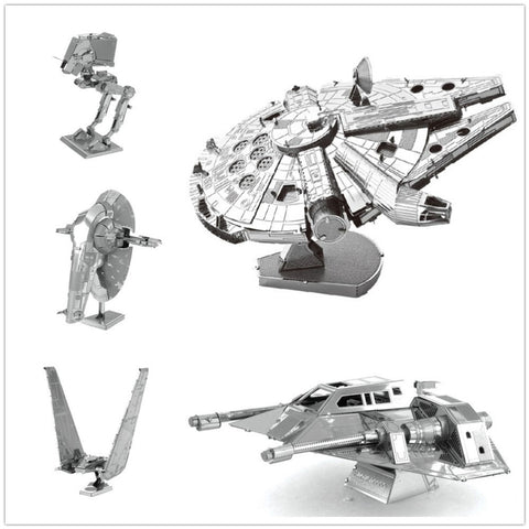 3D Assembling Metal Model Star Wars Millennium