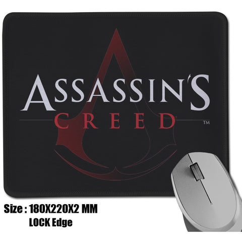 Assassins Creed Logo Mouse Pad High Quality