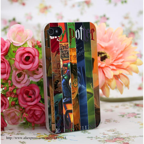(HOT!) harry potter Pattern Hard Transparent Cover Case for iphone 4 4s 5 5s 6 6s For Clear Cell Phone Cases - GamerGift